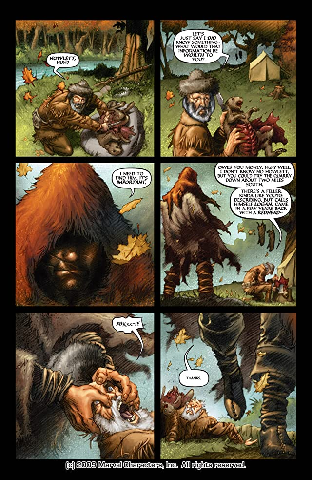 click for super-sized previews of Wolverine: Origin #6