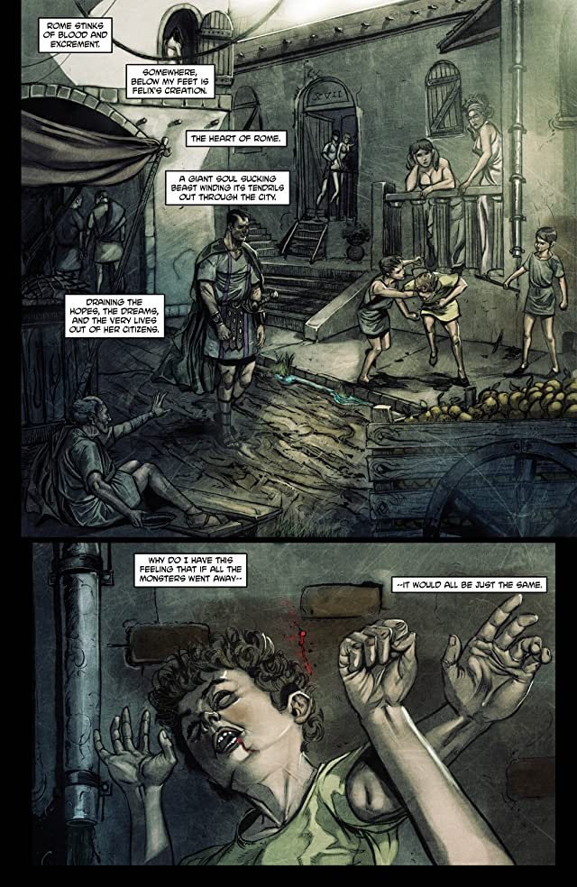 click for super-sized previews of Caligula: Heart of Rome #6
