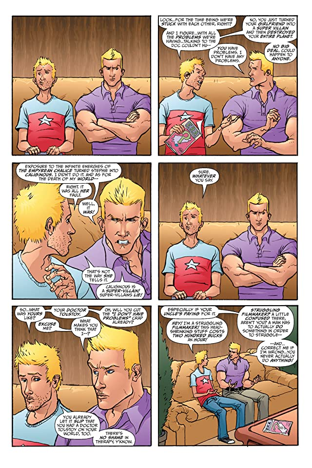 click for super-sized previews of Hero Squared Vol. 2: Another Fine Mess #2
