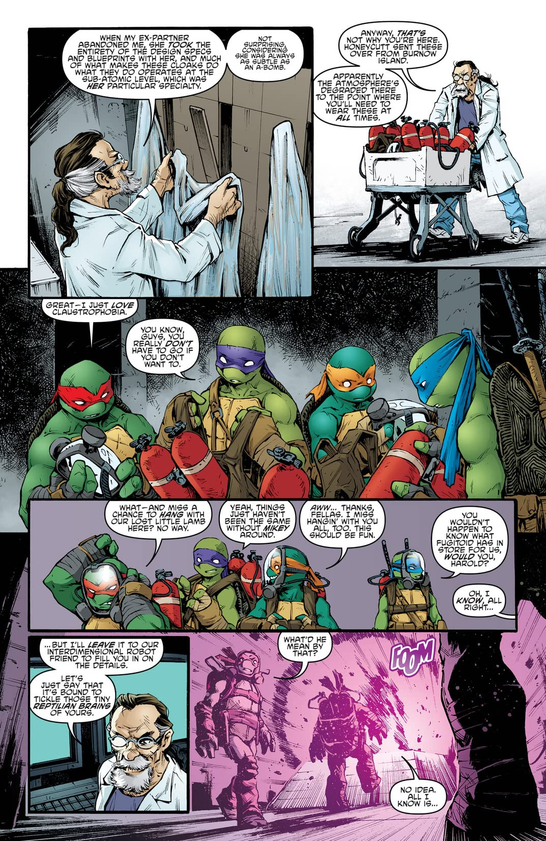 Teenage Mutant Ninja Turtles Vol. 15: Leatherhead