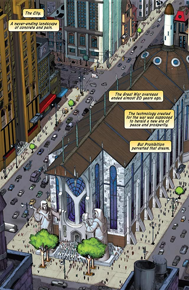 click for super-sized previews of Iron Saint #0