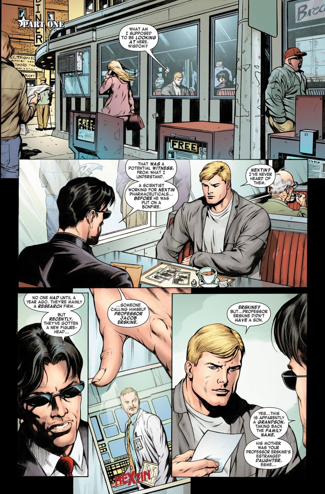 Steve Rogers: Super-Soldier #1 (of 4)