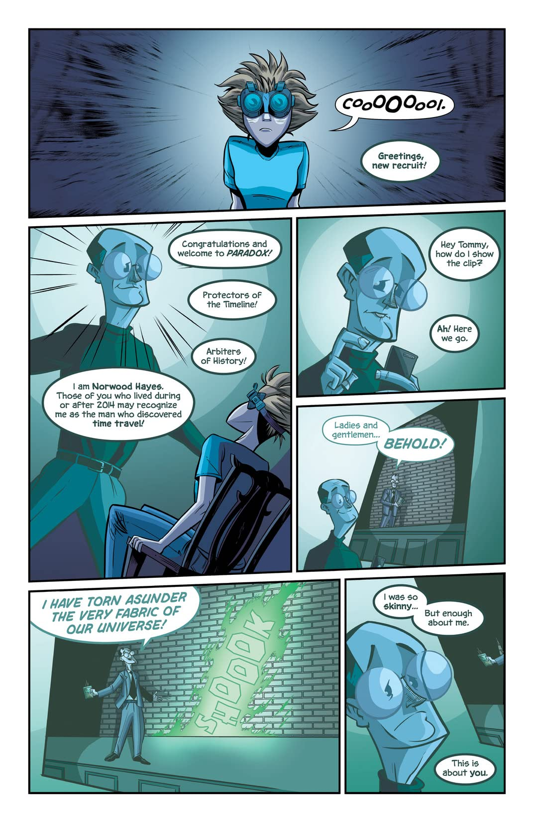 Agents of Paradox #2