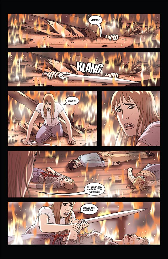 click for super-sized previews of The Sword #2