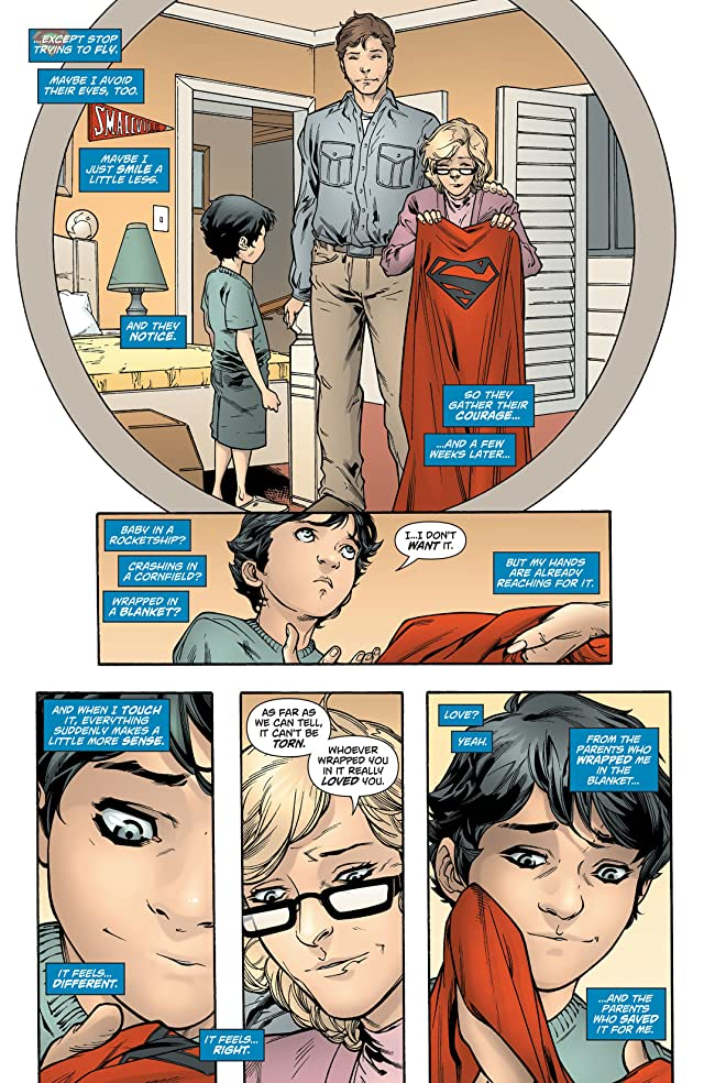 click for super-sized previews of Action Comics (2011-) #27