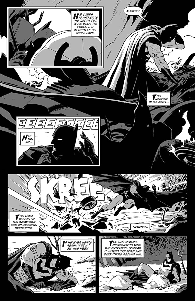 Batman Black & White (2013-2014) #5 (of 6)