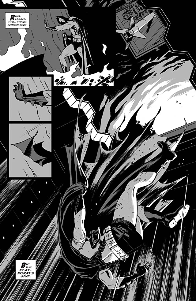 click for super-sized previews of Batman Black & White (2013-2014) #5