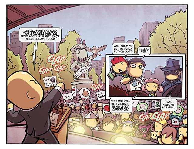 click for super-sized previews of Scribblenauts Unmasked: A Crisis of Imagination #3
