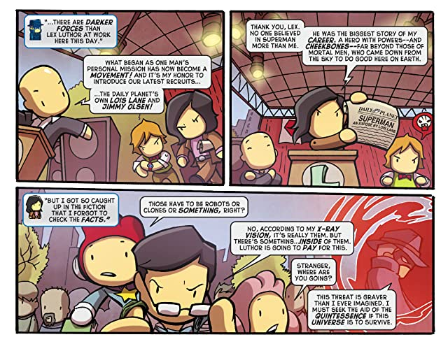 Scribblenauts Unmasked: A Crisis of Imagination #3