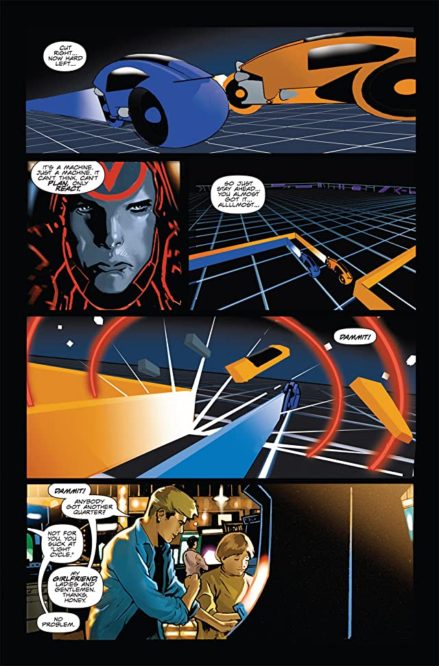 click for super-sized previews of Tron: Original Movie Adaptation #1 (of 4)