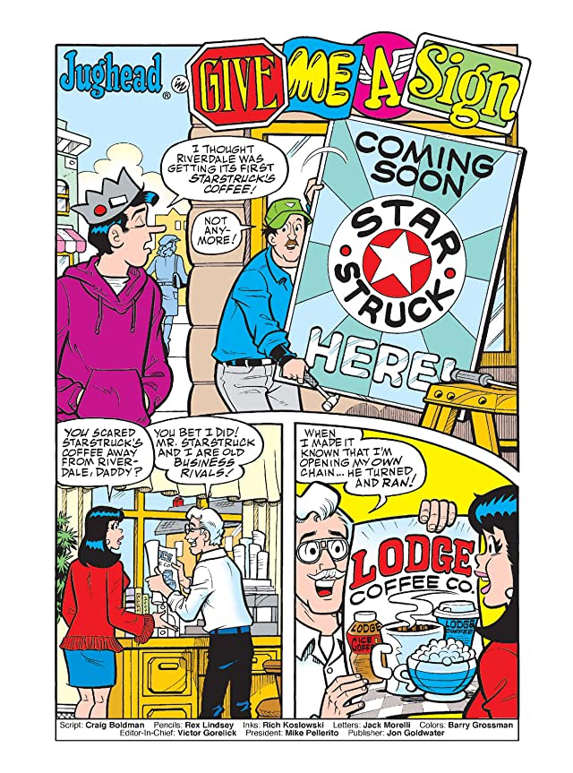 click for super-sized previews of Jughead Double Digest #199
