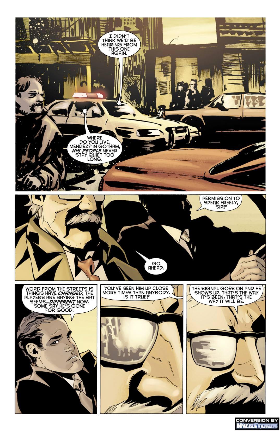 Batman: Streets of Gotham #1