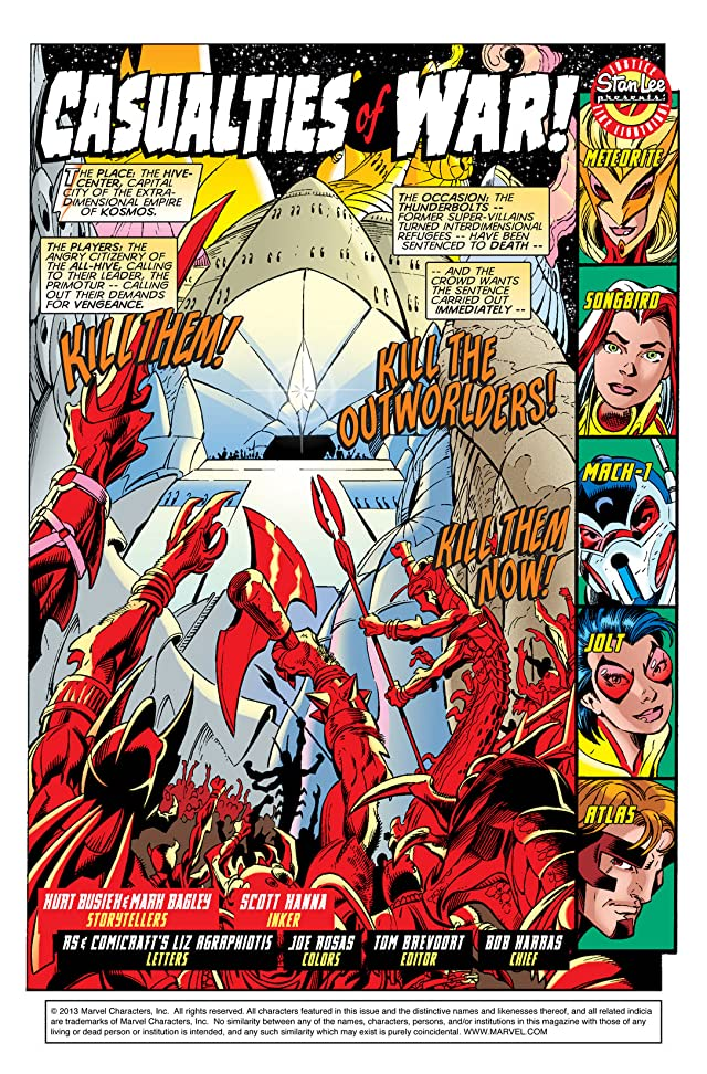 click for super-sized previews of Thunderbolts (1997-2003) #14