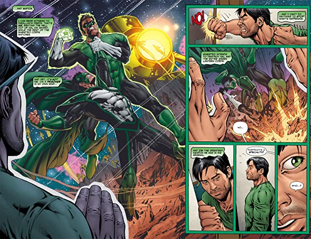 click for super-sized previews of Tales of the Sinestro Corps Presents: Parallax