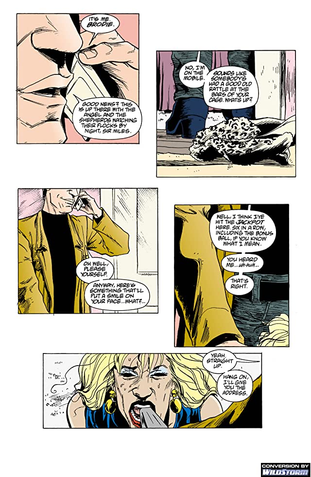 click for super-sized previews of The Invisibles #15