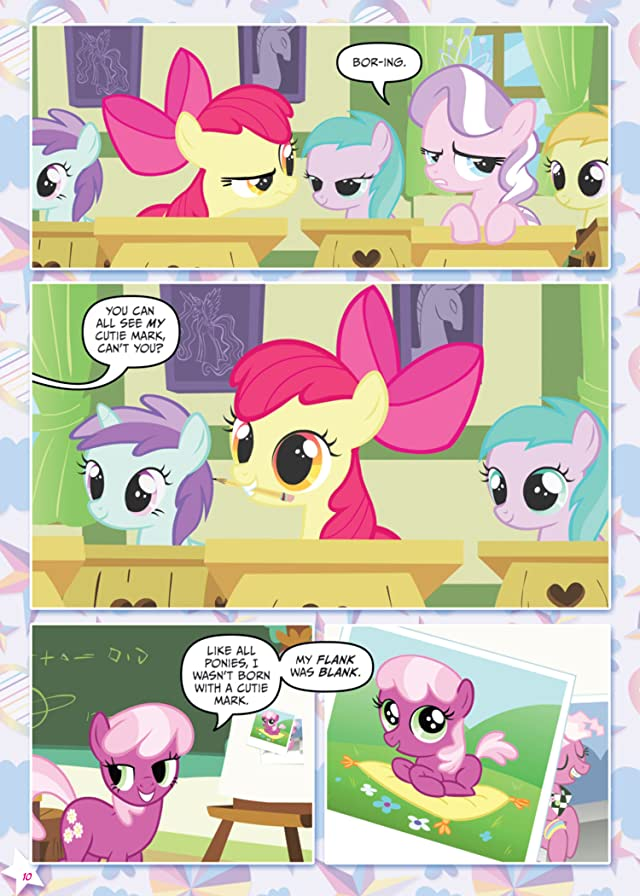click for super-sized previews of My Little Pony: When Cutie Calls