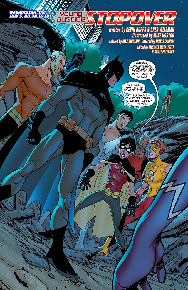 click for super-sized previews of Young Justice Vol. 1