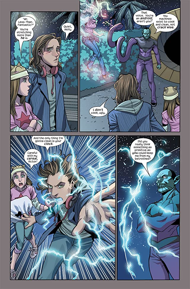 click for super-sized previews of Runaways (2005-2008) #8