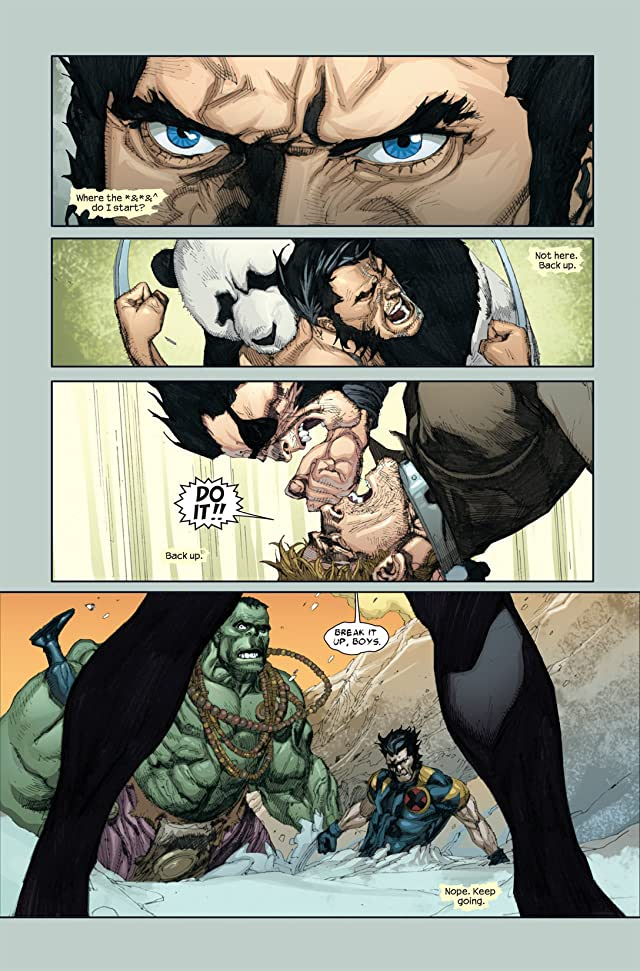 click for super-sized previews of Ultimate Wolverine vs. Hulk #3