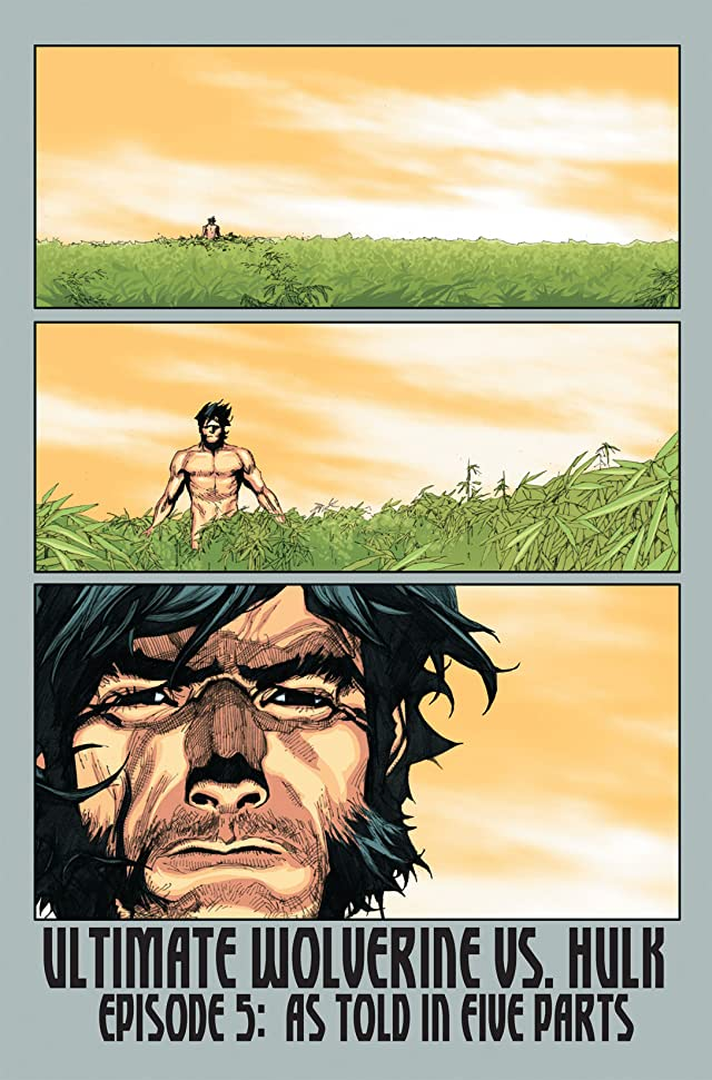 click for super-sized previews of Ultimate Wolverine vs. Hulk #5