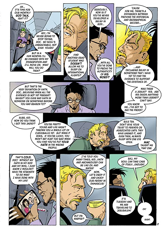 click for super-sized previews of Eye Witness: A Fictional Tale of Absolute Truth #1
