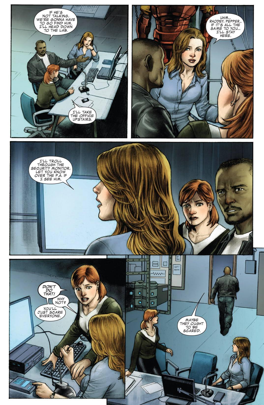 Iron Man: The Rapture #2 (of 4)
