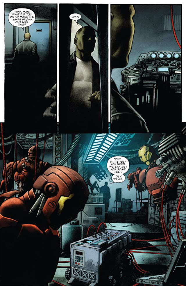 click for super-sized previews of Iron Man: The Rapture #2