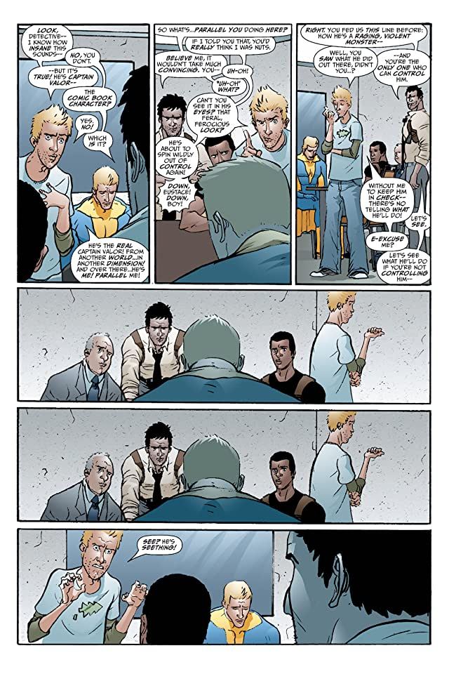 click for super-sized previews of Hero Squared Vol. 2: Another Fine Mess #5 (of 6)