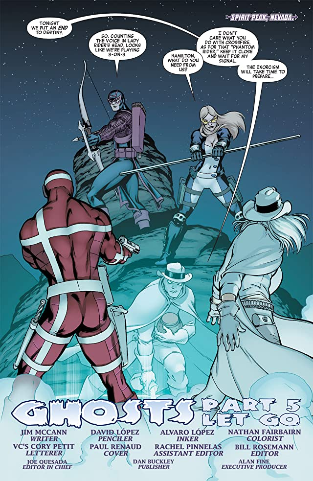 click for super-sized previews of Hawkeye & Mockingbird #5