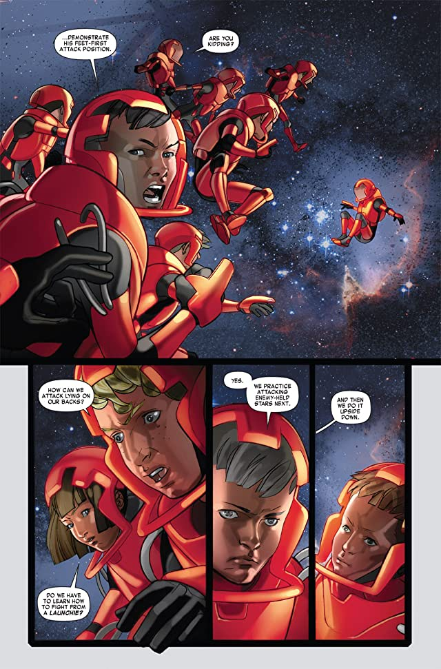 click for super-sized previews of Ender's Game Book One: Battle School #4