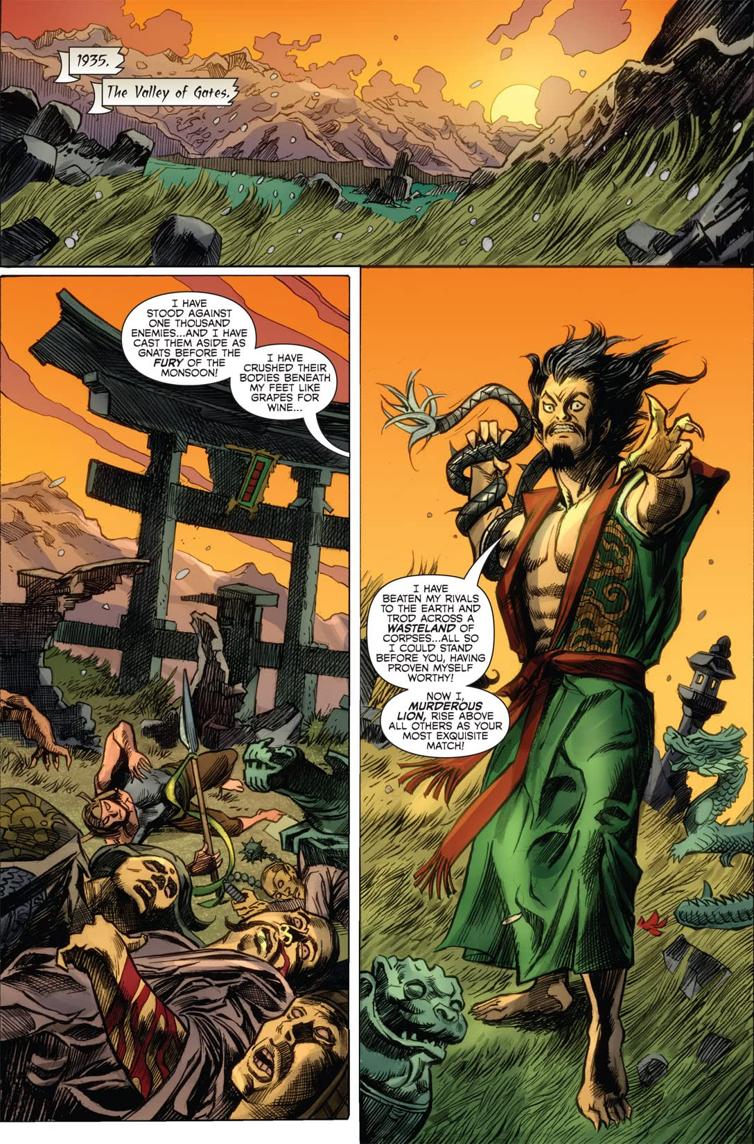 Immortal Weapons #2 (of 5)
