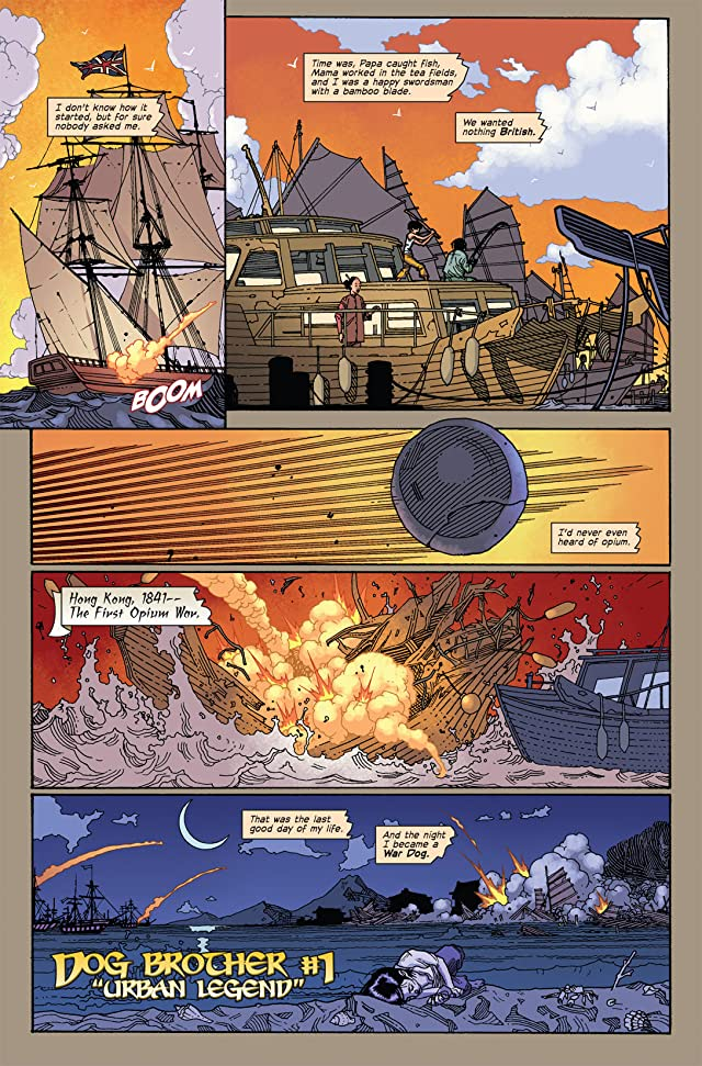 click for super-sized previews of Immortal Weapons #3