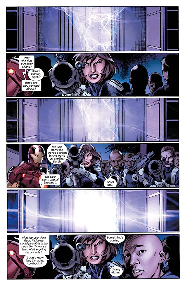 click for super-sized previews of Cataclysm: The Ultimates' Last Stand #3