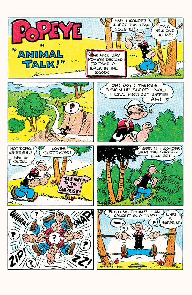 click for super-sized previews of Popeye Classics #15