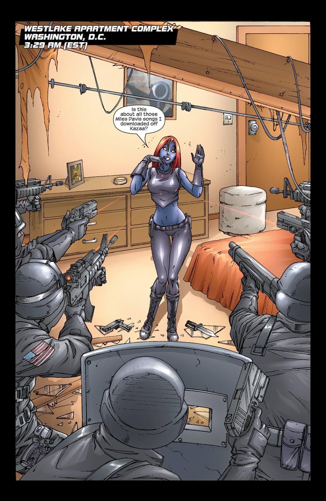 Mystique (2003-2005) #2
