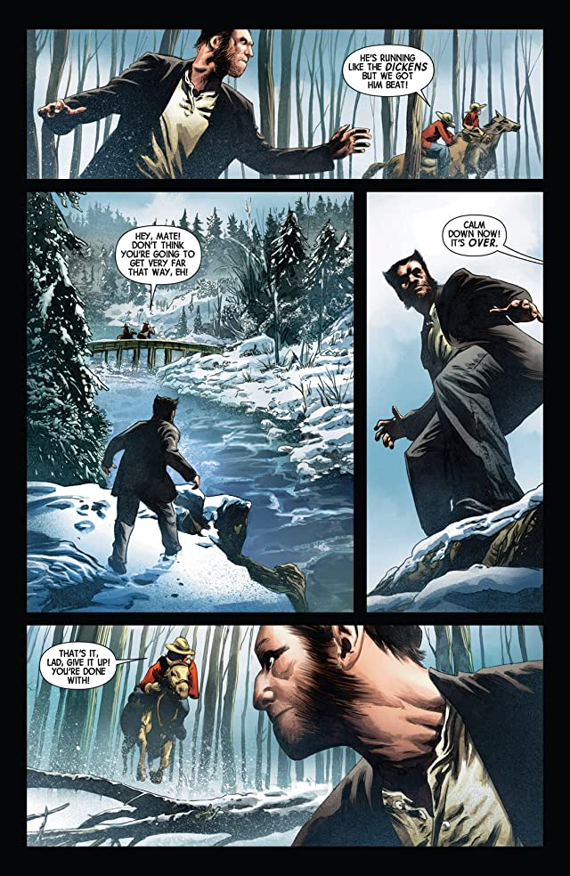 click for super-sized previews of Savage Wolverine #14.NOW