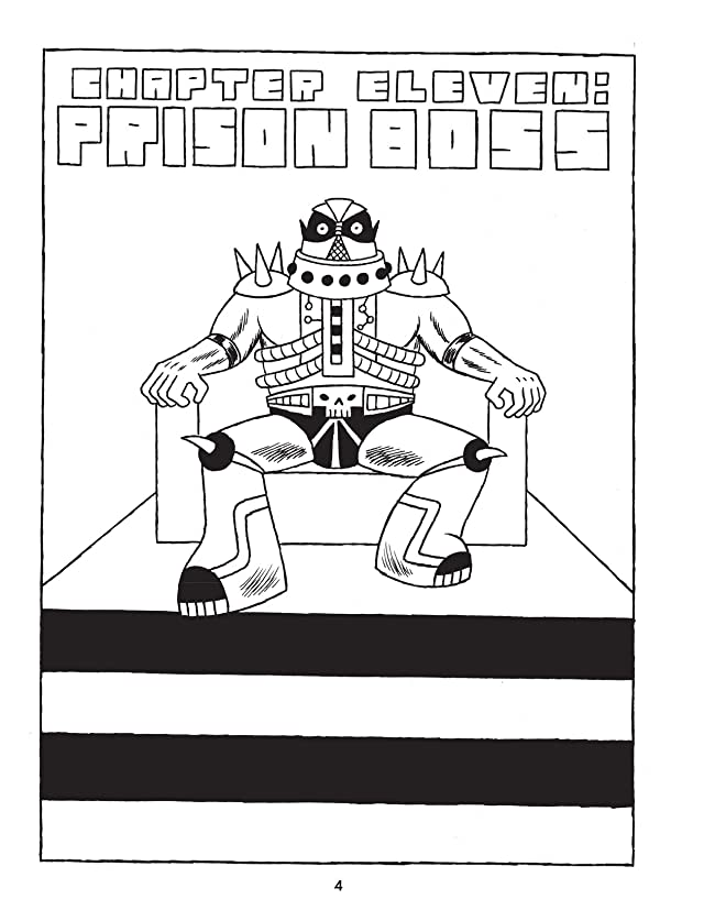 click for super-sized previews of Prison Pit: Book Five