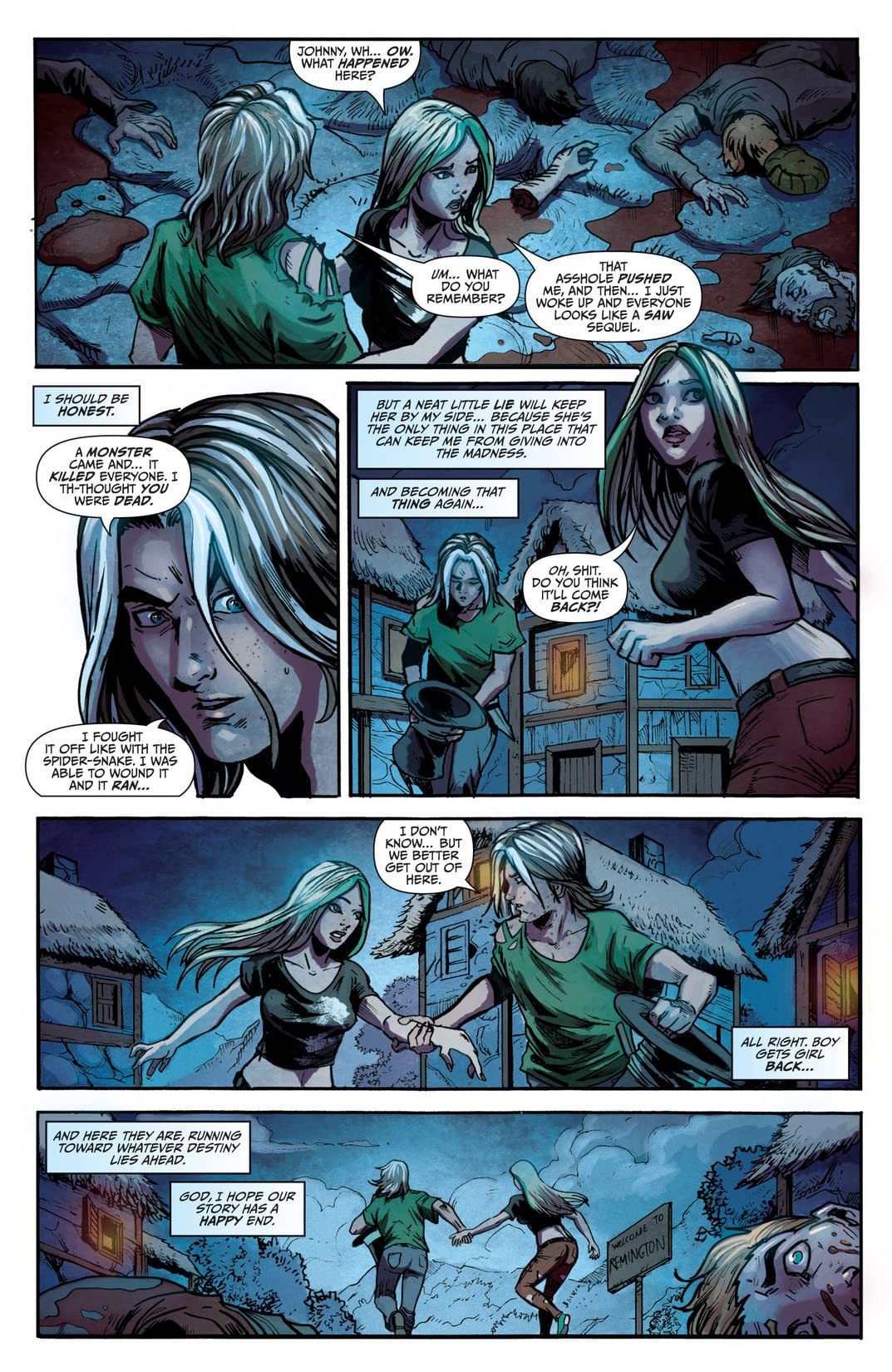 Wonderland: Through the Looking Glass #5 (of 5)