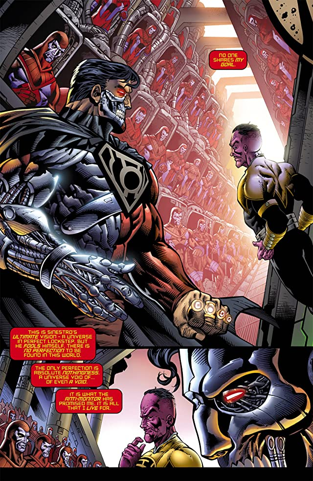 click for super-sized previews of Tales of the Sinestro Corps Presents: Cyborg Superman