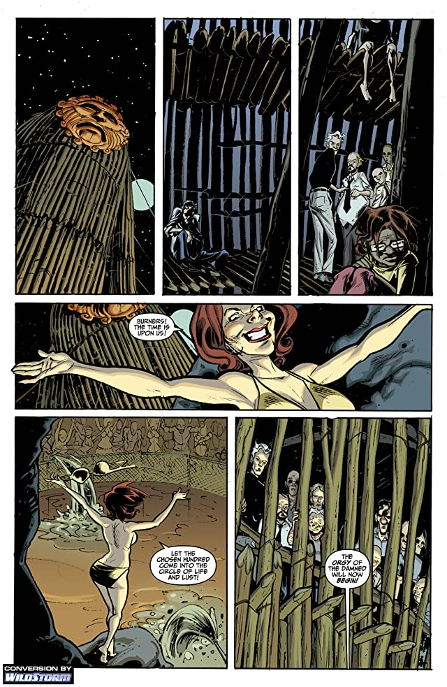 click for super-sized previews of Mysterius: The Unfathomable #6