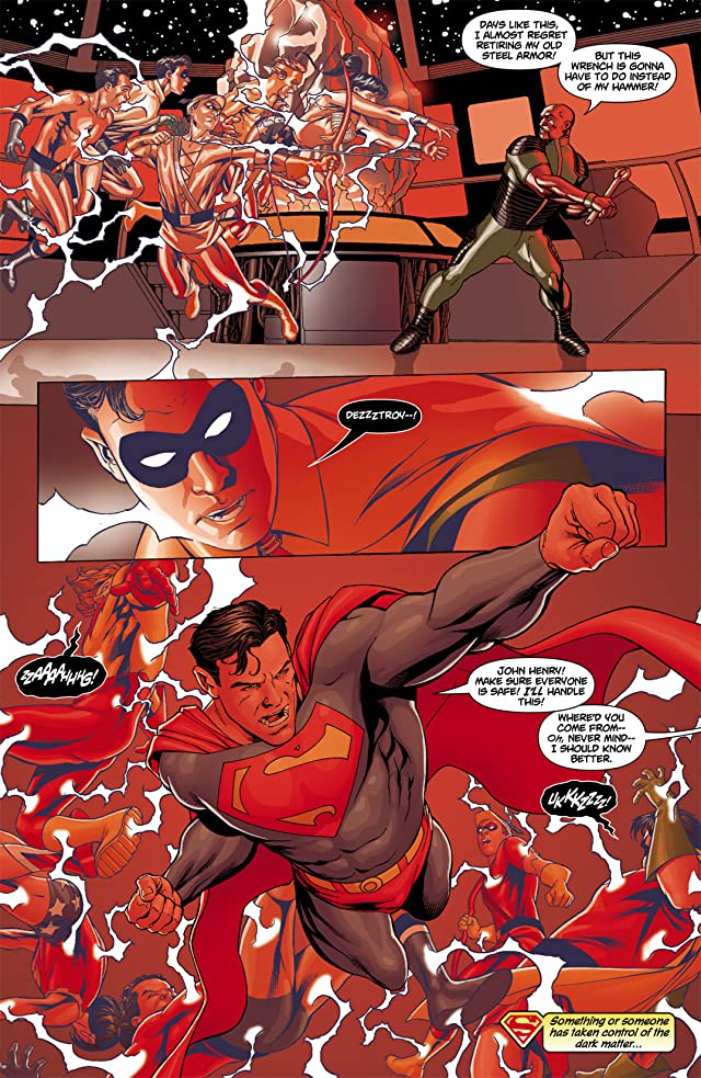 click for super-sized previews of Superman/Batman #43
