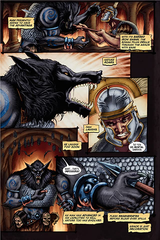 click for super-sized previews of Empire of the Wolf #2