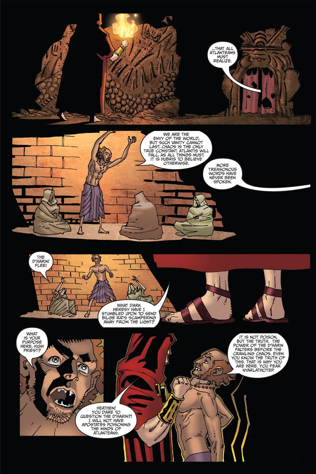 Fall of Cthulhu Vol. 6: Nemesis #2 (of 4)