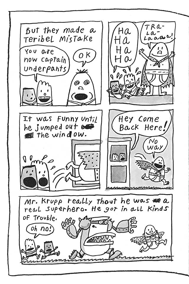 Captain Underpants and the Big, Bad Battle of the Bionic Booger Boy Part 2: The Revenge of the Ridiculous Robo-Boogers