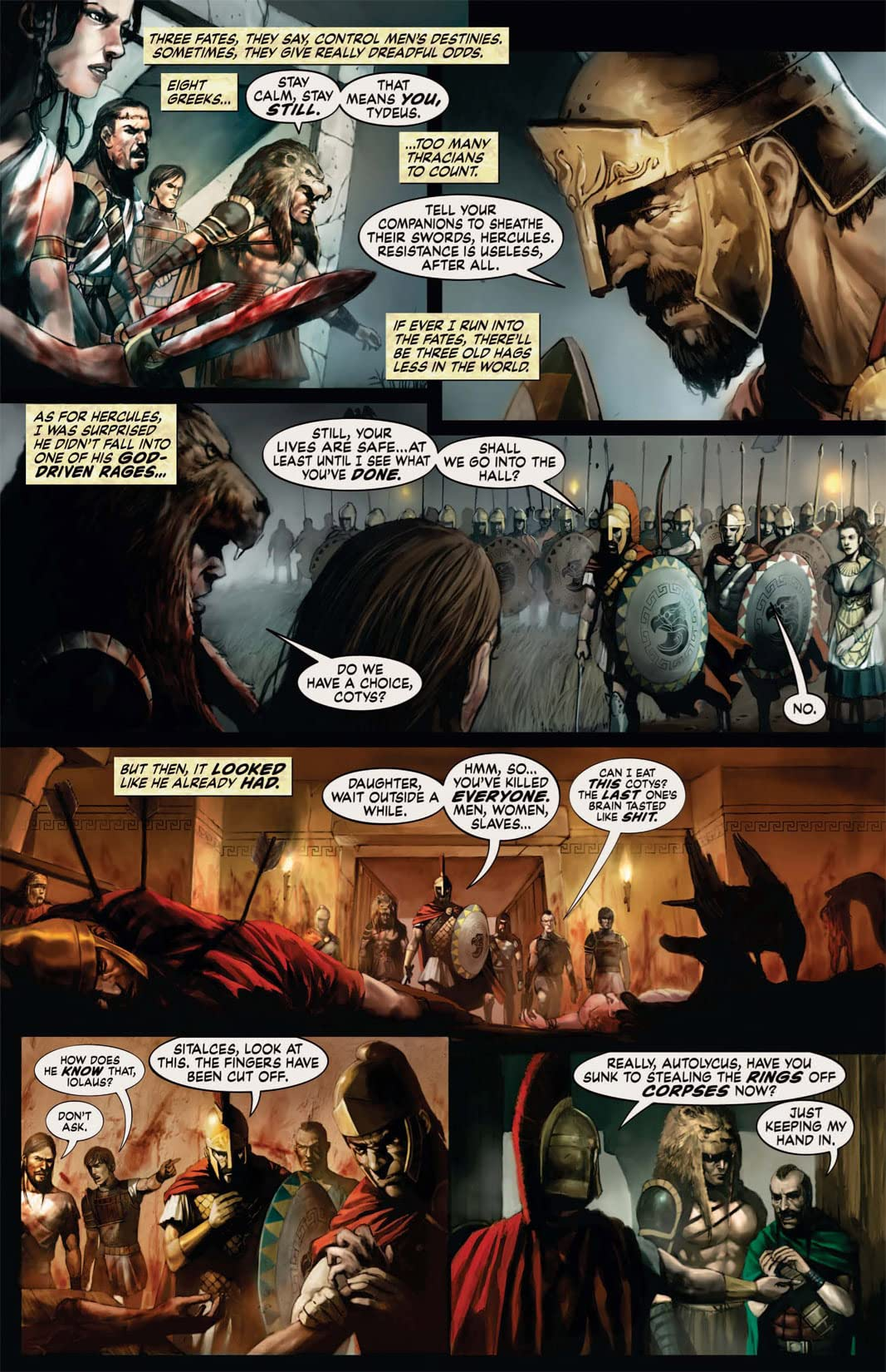 Hercules: The Thracian Wars #2 (of 5)