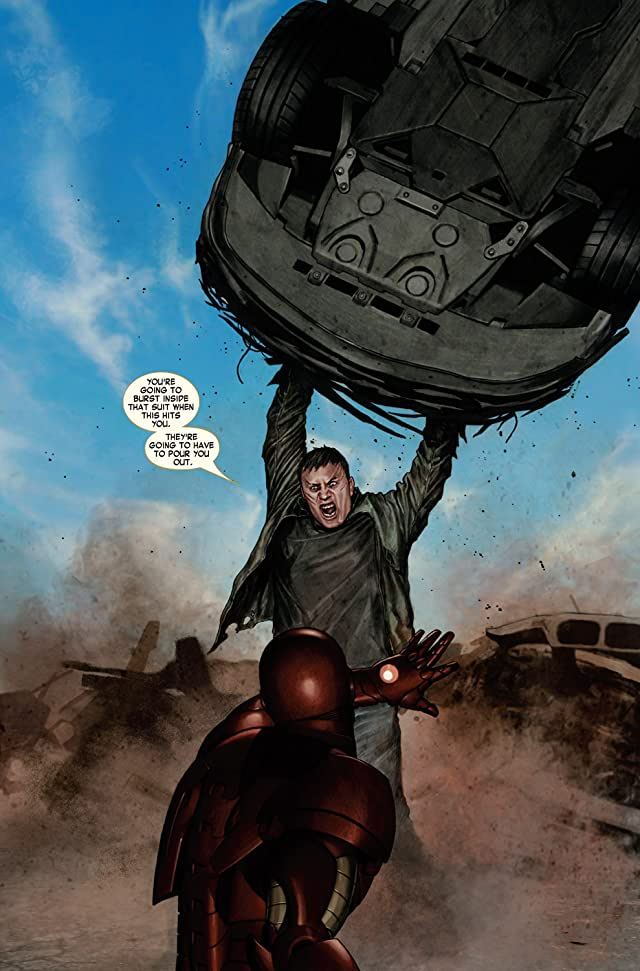 click for super-sized previews of Iron Man (2004-2007) #4