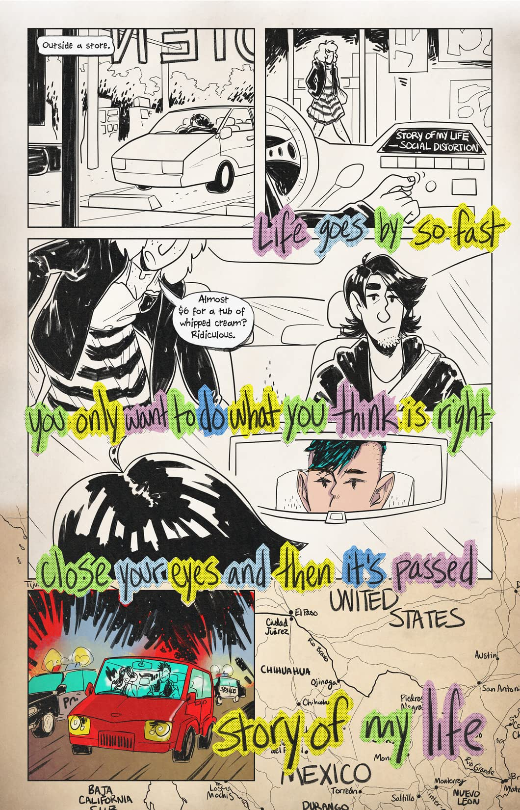 Wrong Way: An American Punk Story #1