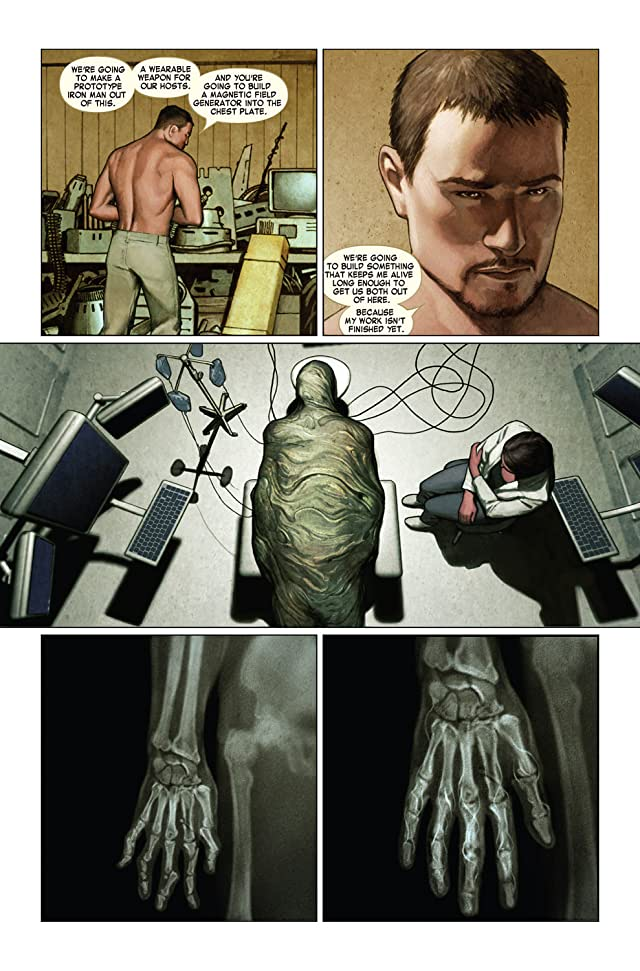 click for super-sized previews of Iron Man (2004-2007) #5