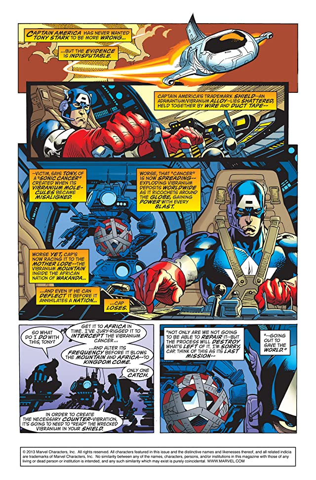 Captain America (1998-2002) #22