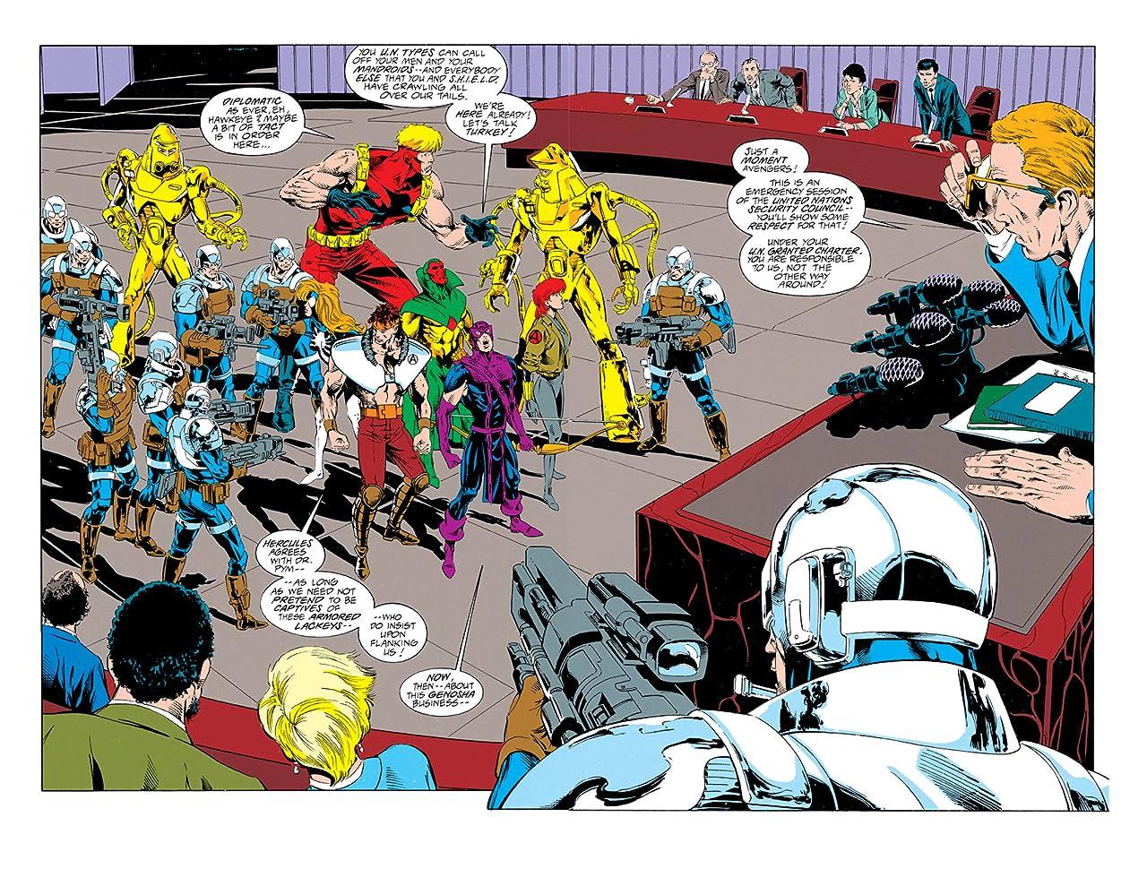 Avengers West Coast (1985-1994) #101